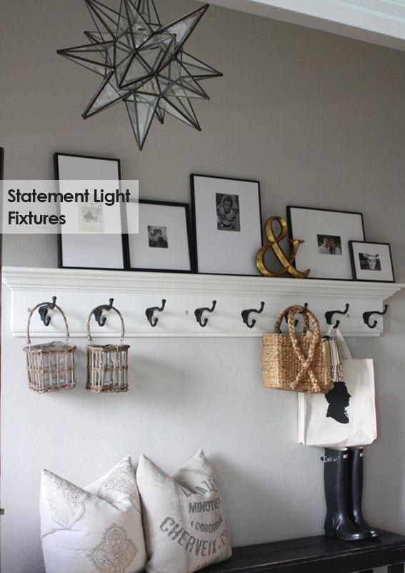 Statement light fixtures