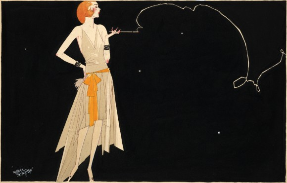 Art DEco Flapper Girl