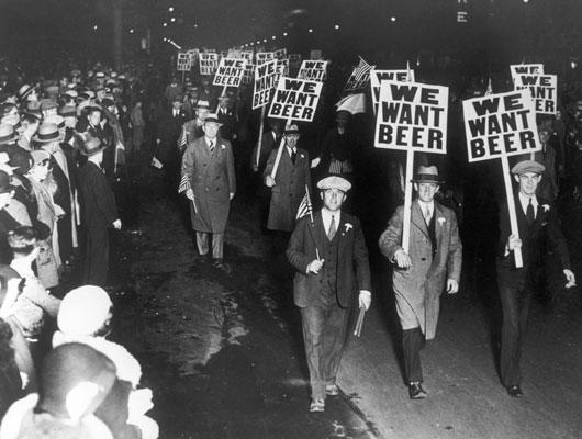 We Want Beer!