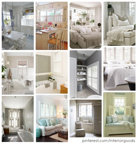 Why we love white shutters